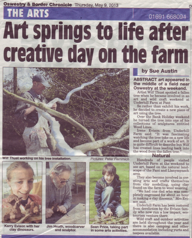 Underhill Art & Wild Craft Fair in the Chronicle