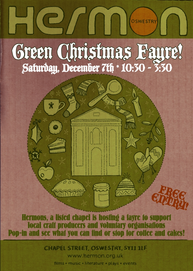 Green fayre poster