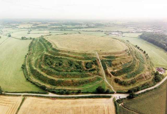 Hillfort - pic -Tourist board