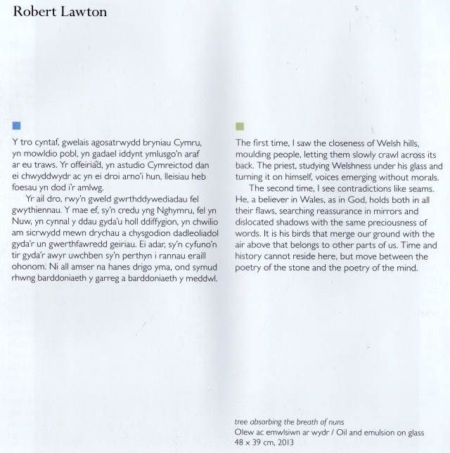 Robert Lawton writing