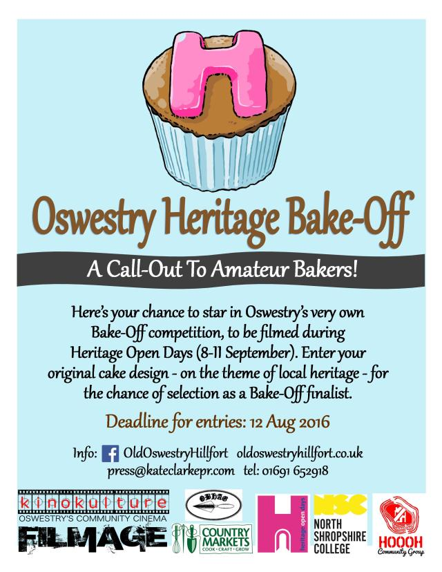 Oswestry Heritage Bake-Off_new poster